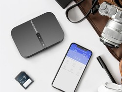 Backup and share files with the discounted FileHub Travel Router for $40