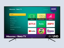 There's just one day to score Hisense's 55-inch 4K Roku TV on sale for $260