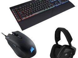 Corsair's Pro gaming bundle has a keyboard, mouse, & headset for $85 total