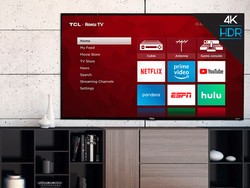This big screen bargain brings TCL's 50-inch 4K UHD Roku TV down to $260