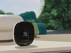 Control the temp with your voice using the Ecobee Smart Thermostat for $200