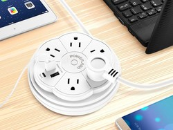 Charge more with 50% off this USB-C power strip at Amazon