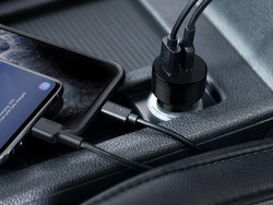 Keep your devices powered up with Aukey's USB-C car charger down to $12