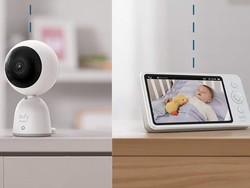 Save $30 and keep an eye on your child with Eufy's video baby monitor