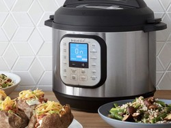 Feed eight people with the Instant Pot Duo Nova pressure cooker down to $70