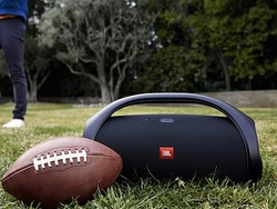 The JBL Boombox is a super powerful portable Bluetooth speaker that's $280