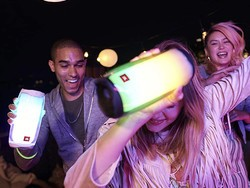 Put on a light show with the JBL Pulse 4 Bluetooth speaker on sale for $180