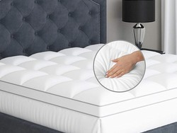 Get some rest with 30% off a Sleep Mantra mattress topper and bedding set