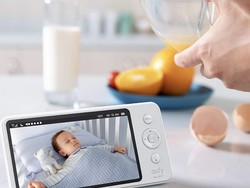 Monitor your baby with the Eufy SpaceView 720p camera on sale for $110
