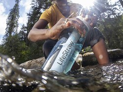 Quench your thirst with the Lifestraw Go water filter bottle down to $30