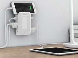Aukey's $15 USB Outlet can charge six devices at once
