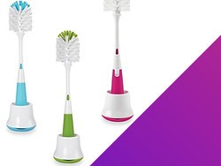 The OXO Tot Bottle Brush and Stand is only $3.99