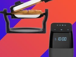 Pick up a new waffle maker for $25 and you'll get a free Google Assistant Bluetooth Speaker