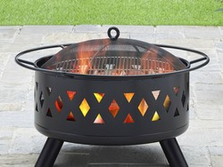 Get ready for summer nights with this $88 BHG 28-inch fire pit