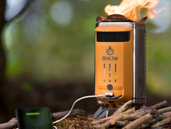 Cook a meal and charge your phone outdoors with the $104 BioLite CampStove 2 Camping Stove