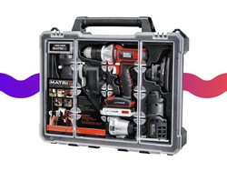 This Black & Decker case includes six cordless tools for just $119