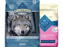 If your dog eats Blue Buffalo food, you should know it's 25% off today