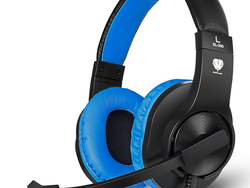 Slip on this wired stereo gaming headset with mic for only $12