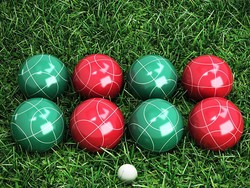 Get the ball rolling with the $28 Bocce Ball Set