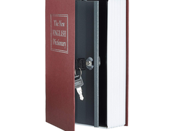 Keep your valuables out of sight with a $7 AmazonBasics Book Safe