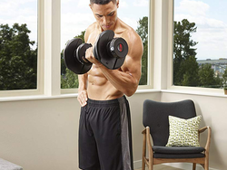 Get pumped up with $50 off the Bowflex SelectTech adjustable dumbbell