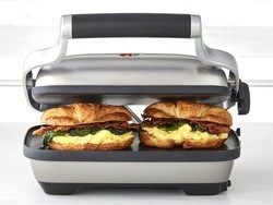 The $59 Breville Silver Panini Press is at its lowest price ever