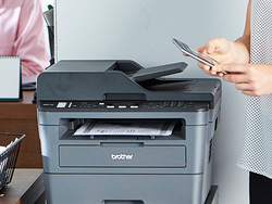 Send print jobs wirelessly to Brother's $100 Monochrome All-In-One Laser Printer