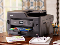 Brother's $145 All-in-One Color Inkjet Printer wirelessly prints and scans