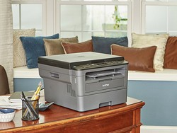 The $100 Brother compact laser printer makes it easy to print and scan from mobile devices