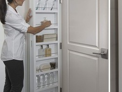 Take advantage of vertical space with $120 Cabidor Classic Storage cabinet