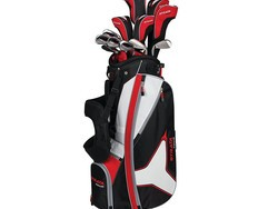 Treat yourself to new clubs with this right-handed Callaway Strata Tour 18-piece golf set for $260