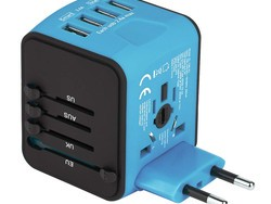 Stay charged up in any country with 30% off this Universal Travel USB Wall Adapter