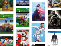 Grab some of the biggest Xbox, PS4 and PC game titles for up to 70% off