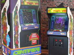 Go for a high score with the miniature RepliCade X Centipede Arcade Cabinet at $45 off