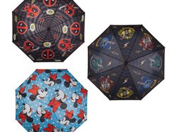 Weather the storm with these officially licensed 42-inch umbrellas, starting at just $8
