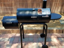 The Char-Broil American Gourmet Offset Smoker is as sweet as it looks