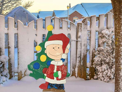 Charlie Brown and Rudolph holiday decorations, LED lights and more are up to 40% off today