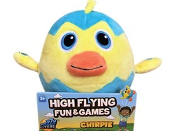 Get the wiggles out with this $8 Chirpie Fuzzy Flyers toy