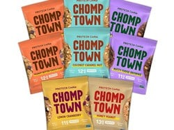 Score 50% off an 8-pack of Chomptown gluten-free dairy-free protein cookies with this coupon code