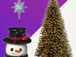 Holiday ornaments, lights, wreaths and more from just $4.50