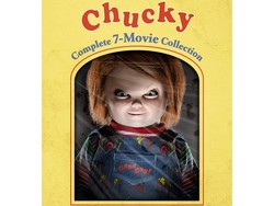 Score a scary-good discount on the complete Chucky movie collection at Amazon