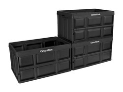 These 62L CleverMade storage bins are collapsible, and you can get three for $47