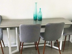 Add something new to the dining room with four Coavas chairs for $149