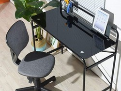 This $66 Coavas glass computer desk will add a nice touch to your office