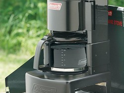 Outsmart the cowboys with this $29 Coleman Grill-Top Coffeemaker