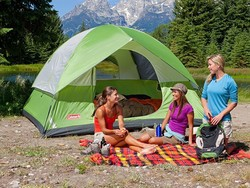 Sleep up to six people in this $60 Coleman Sundome Tent