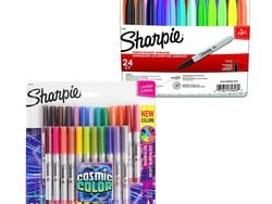 A bunch of colorful Sharpie markers are discounted through the end of the day