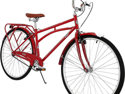 Take a ride around your neighborhood with Columbia's retro 700C Archbar Bicycle for $80