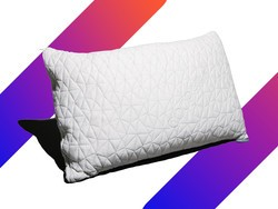 Sleep sound with the $36 Adjustable Shredded Memory Foam Pillow