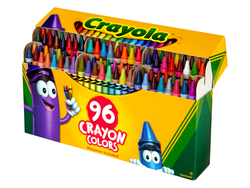 Cross Crayola's 96-count Crayons with Built-in Sharpener off your back-to-school list for $5
